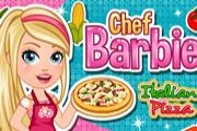 Şef Barbie İtalyan Pizza