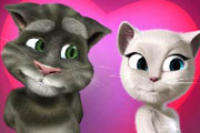 Talking Tom Cat ve Sevgilisi