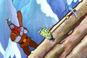 Spongebob Viking Hiking