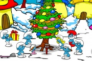 The Smurfs Christmas Tree