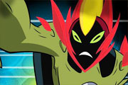 Ben 10 Ultimate Alien Ateş Adam