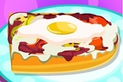 Omletli Pizza